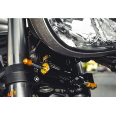 "Hyperpro RSC ""Reactive"" Steering Damper for the Triumph Street Triple 765 R / S / RS"